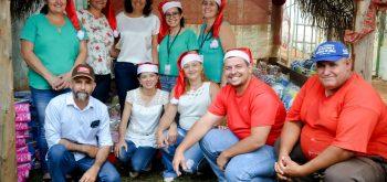 Prefeitura de Santa Rosa de Goiás juntamente com a Organização das Voluntárias de Goiás(OVG) , fez á entregas de brinquedos no dia 07/12!