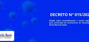 DECRETO N° 015/2020