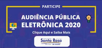 AUDIÊNCIA PÚBLICA PARA ELABORAÇÃO DA LDO PARA 2021